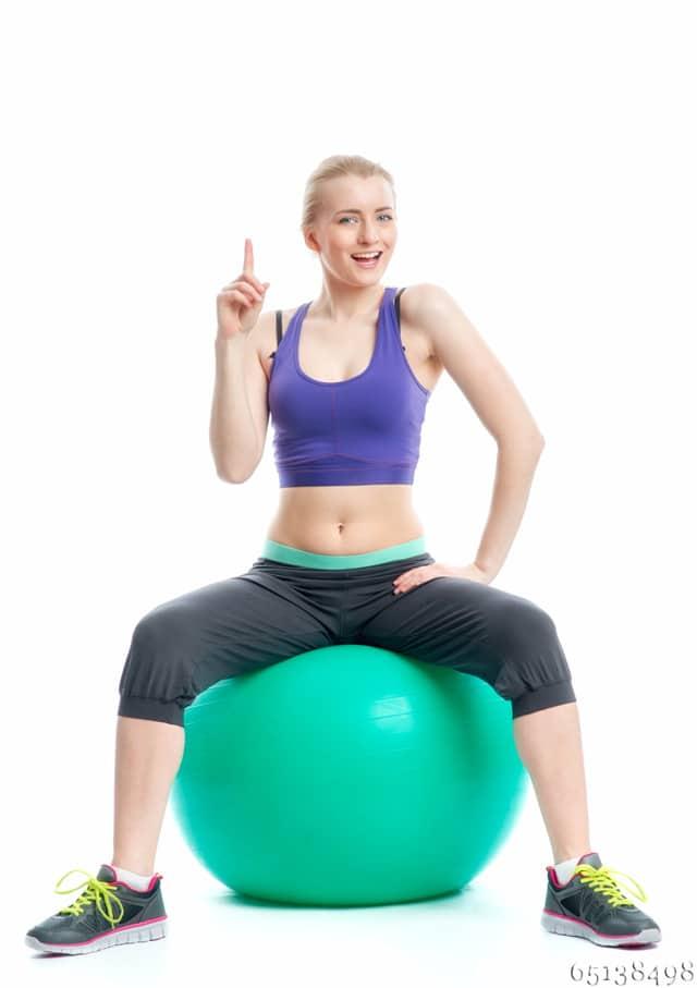 Gymnastikball in der Schwangerschaft