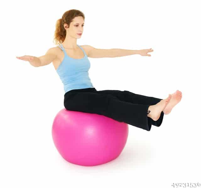 Gymnastikball Pumpe